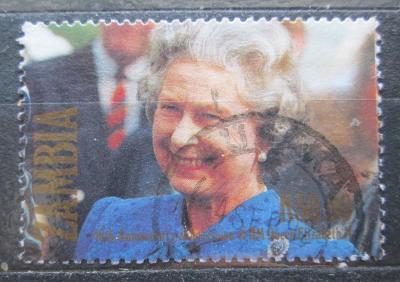 Zambie 1992 Královna Alžběta II. Mi# 594 1007