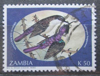 Zambie 1994 Ptáci Mi# 626 1007