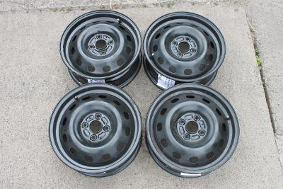 "Plechové disky 5,5Jx15"" 4x100 ET50 Opel Agila / Suzuki Splash"