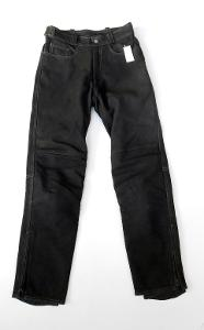 Kožené kalhoty - broušené vel.48
