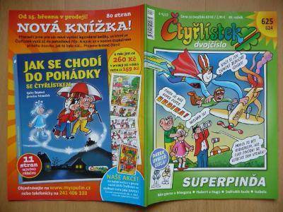 ČTYŘLÍSTEK - dvojčíslo 624-625. - Superpinďa