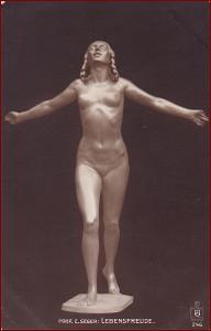 Socha (umělecká plastika) * žena, postava, copy, akt, erotika * M7059
