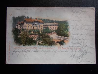 Ústí Teplice Teplitz Schönau Dubí Eichwald Tereziny lázně DA 1899