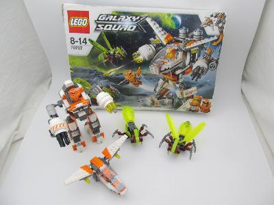 LEGO 70707 Galaxy Squad  Hubící robot CLS-89 VZACNI SET foto v popisu