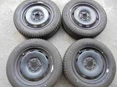 175 65r15 zimní Michelin+15 plech+snímače tlaku, Mini II One 4kusy