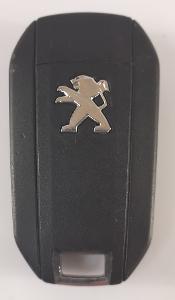 Klíč Peugeot 308/508/301 Tlačítka: 3 / Frekvence: 433MHz /