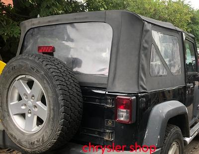 Jeep Wrangler 07-18 , soft top / střecha