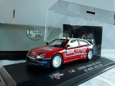 HIGH SPEED 1/43 CITROEN XSARA WRC MONTE CARLO 2004