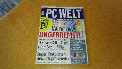 Časopis PC Welt 8/2005