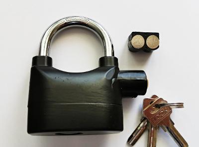 Alarm lock 110 dba, visací zámek s alarmem