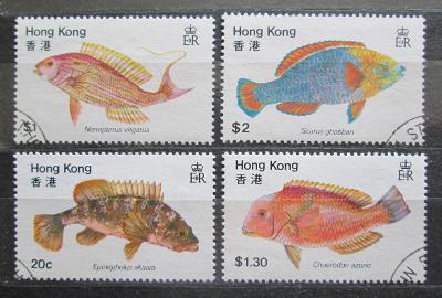 Hongkong 1981 Ryby Mi# 368-71 1022