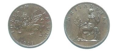 Jónské Ostrovy 2 Lepta 1819