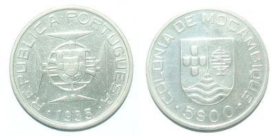 Mozambik 5 E 1935