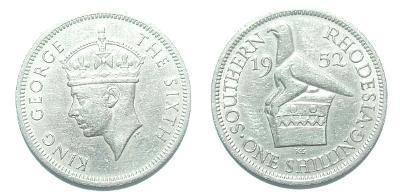 Southern Rhodesia 1 S 1952