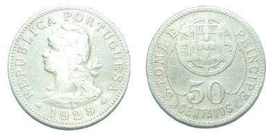 Svatý Tomáš a Princ 50 C 1929