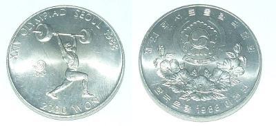Jižní Korea 2000 W 1988
