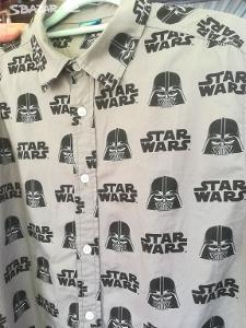 sběratelská vel. M košile bavlna STAR WARS