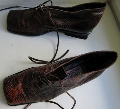 Kožené boty zn. Jan Jansen, Spain vel. 36