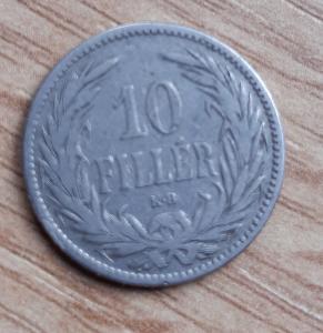 10 Fillér 1894