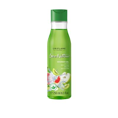Povzbuzujcí sprchový gel Fruit Infusion Love Nature Oriflame Novinka