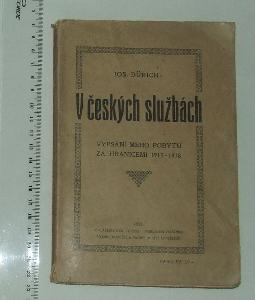 J. Dürich - V českých službách 1915-1918 - r. 1921