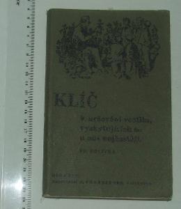 Klíč k určování rostlin - F- Polívka - 1938
