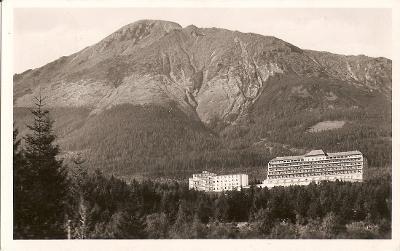 NOVÝ SMOKOVEC - sanatorium - Vysoké Tatry - Slovensko - MF