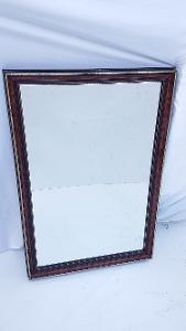 Elegantní zrcadlo v krásném rámu / fazetové sklo