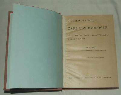 Základy biologie - 1946 - rostliny zvířata geologie