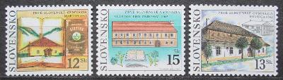 Slovensko 2002 První slovenská gymnázia Mi# 419-21 1043