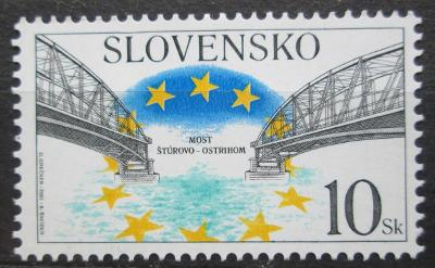 Slovensko 2001 Most Štúrovo - Ostrihom Mi# 409 1044