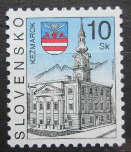 Slovensko 2002 Radnice, Kežmarok Mi# 423 1044