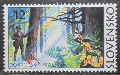 Slovensko 2004 Dobročský prales Mi# 489 1046