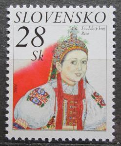 Slovensko 2004 Svatební kroj Mi# 482 1046