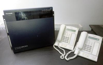 Panasonic KX-TDA200 + digitální telefony