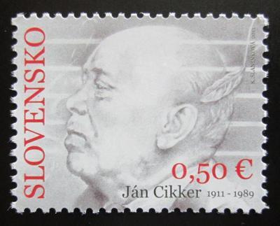 Slovensko 2011 Ján Cikker, skladatel Mi# 666 1048