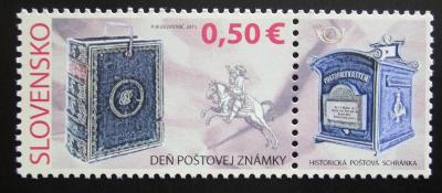 Slovensko 2011 Den známek Mi# 673 1049