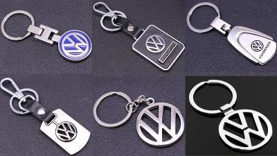 VW VOLKSWAGEN Logo - přívěšek na klíče 6 druhů