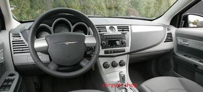 Chrysler Sebring 07-10 , sada airbagů