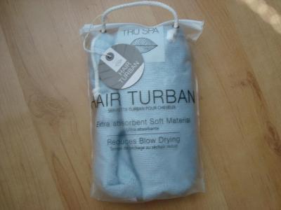 Hair turban nový