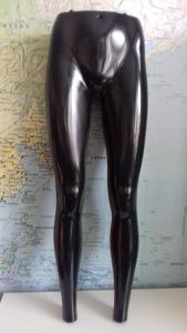 Nohy na zavěšení dámské černé