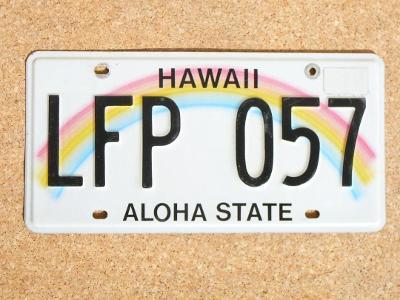 USA SPZ, Hawaii originál...
