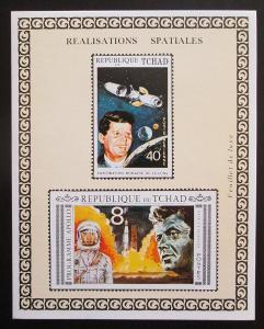 Čad 1971 Program Apollo, J. F. Kennedy Mi# Block 14 B Kat 50€ 1647