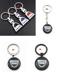 DACIA Logo - přívěšek na klíče 7 druhy