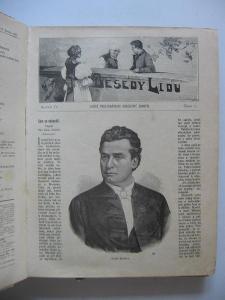 Besedy lidu ročník IV. 1896 a ročník V. 1897 prostonárodní obrázkový č