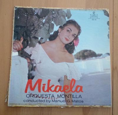 MIKAELA - ORQUESTA MONTILLA MANUEL MATOS - LP