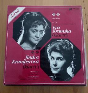 DEBUT - EVA KRAMSKA & JINDRA KRAMPEROVA - LP