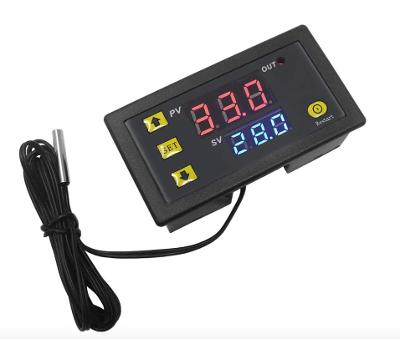 Digitální termostat panelový LCD 12V/220V W3230