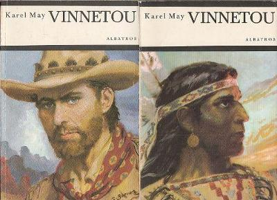 Vinnetou I-II - K.May, il.Burian, Albatros
