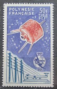Francouzská Polynésie 1965 ITU, 100. výročí TOP Mi# 44 Kat 100€ 1059